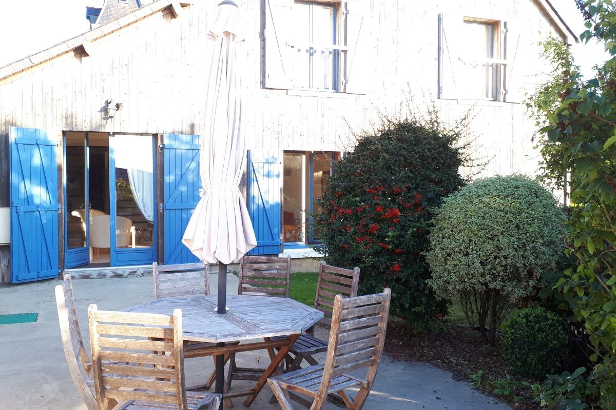 Le salon - Location de vacances - Mont-Dol