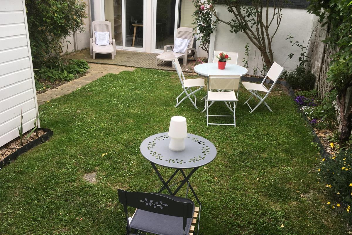 jardin - Location de vacances - Saint-Malo