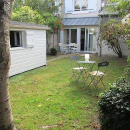 Jardin clos et cabanon à disposition - Location de vacances - Saint-Malo