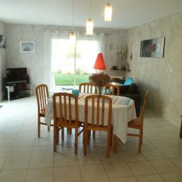 Le salon séjour - Location de vacances - Saint-Briac-sur-Mer