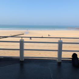 La plage face à l'appartement - Location de vacances - Saint-Malo
