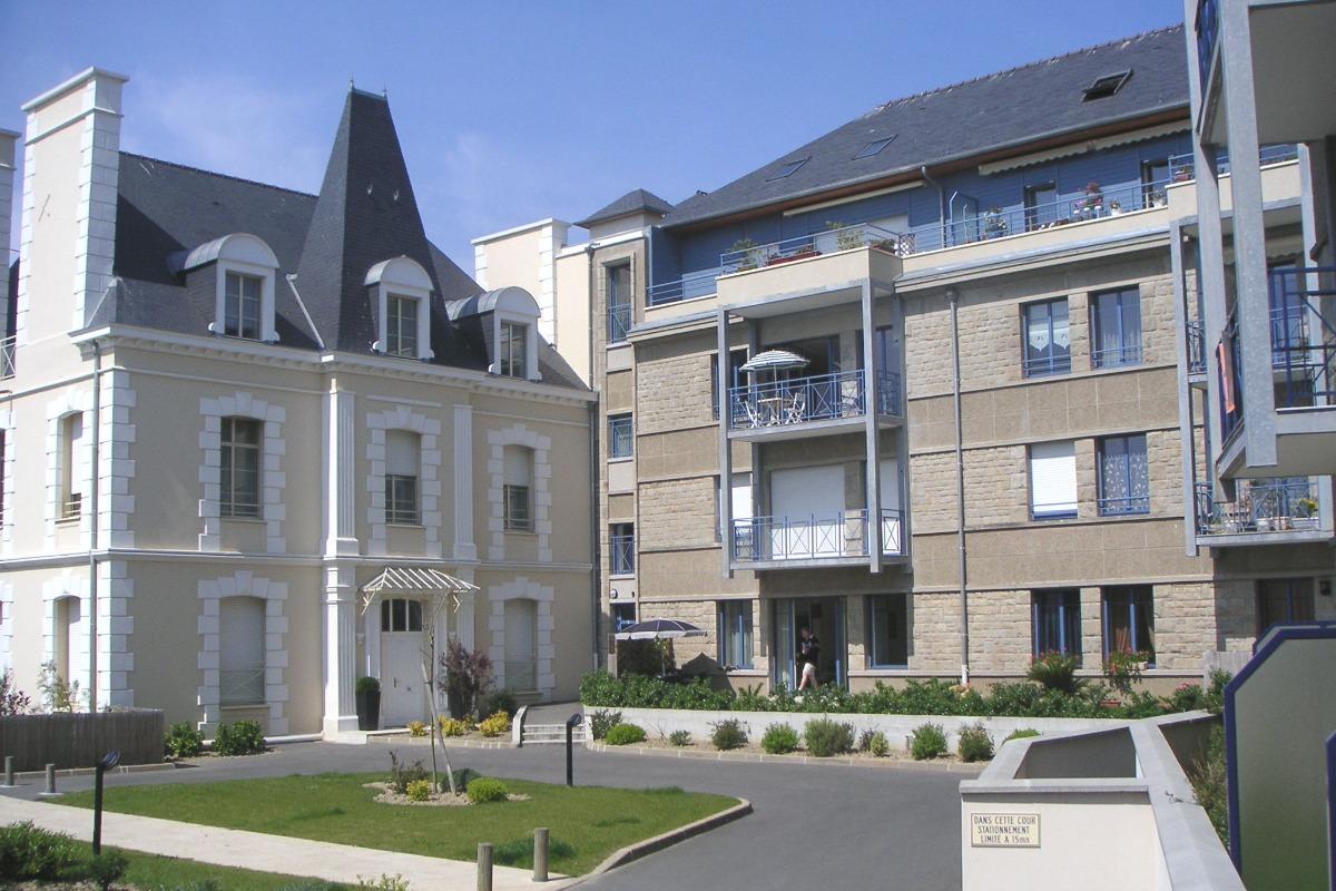L'entrée de la residence - Location de vacances - Saint-Malo