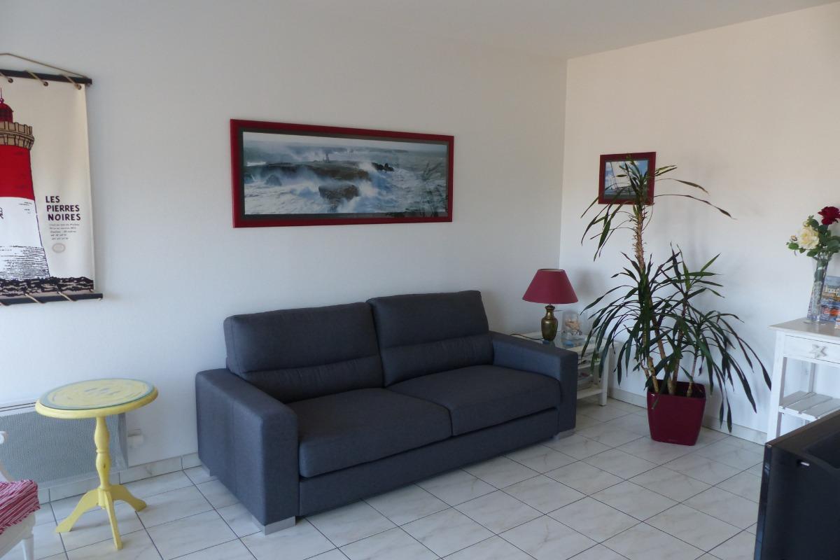 Le salon - Location de vacances - Saint-Malo