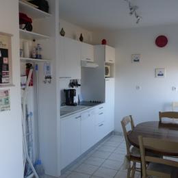 La cuisine - Location de vacances - Saint-Malo