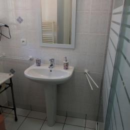 La salle d'eau privative - Chambre d'hôtes - Saint-Malo
