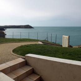 Face à la mer et à la pointe de la Varde depuis la terrasse - Location de vacances - Saint-Malo