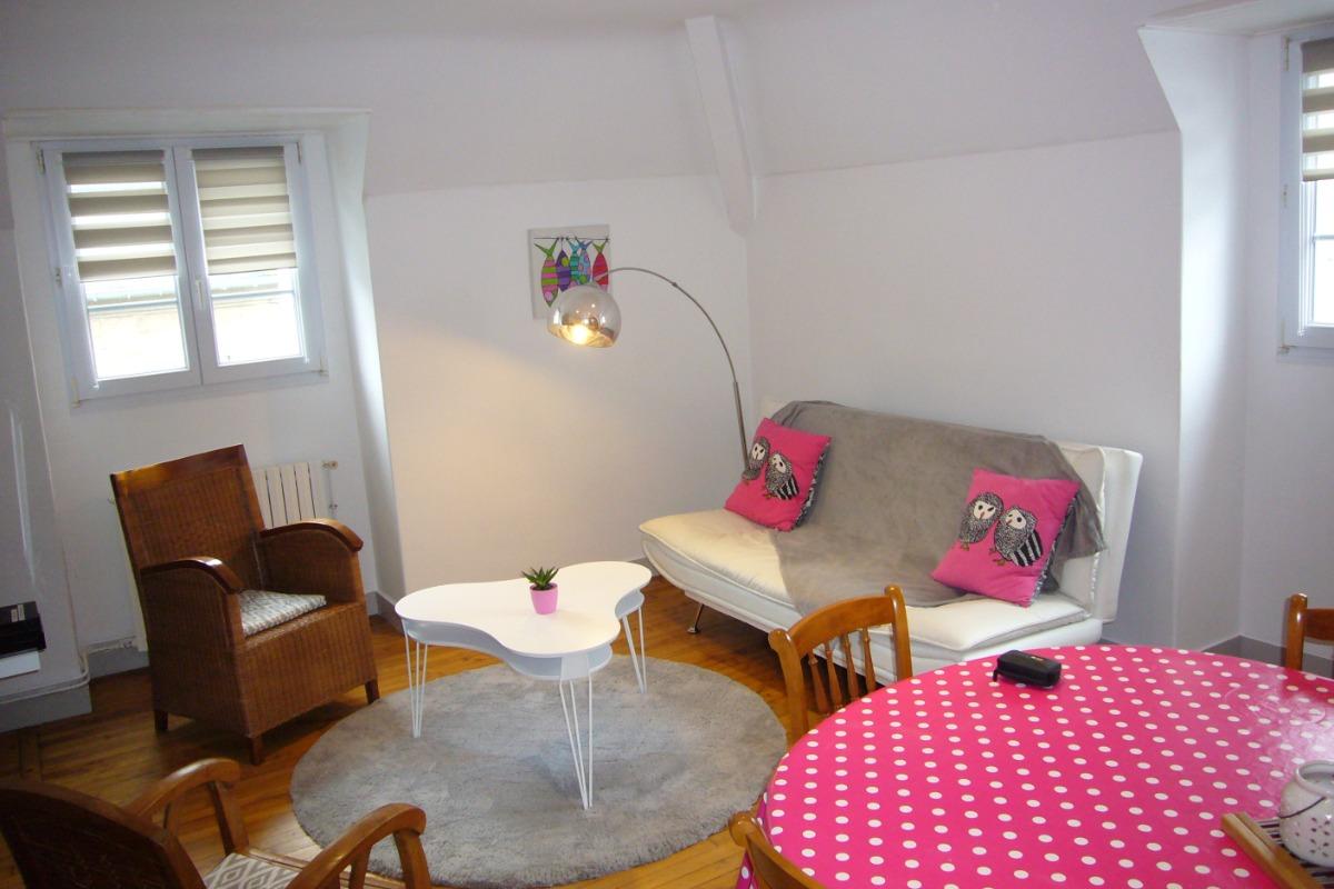 Salon / Salle à manger - Location de vacances - Saint-Malo