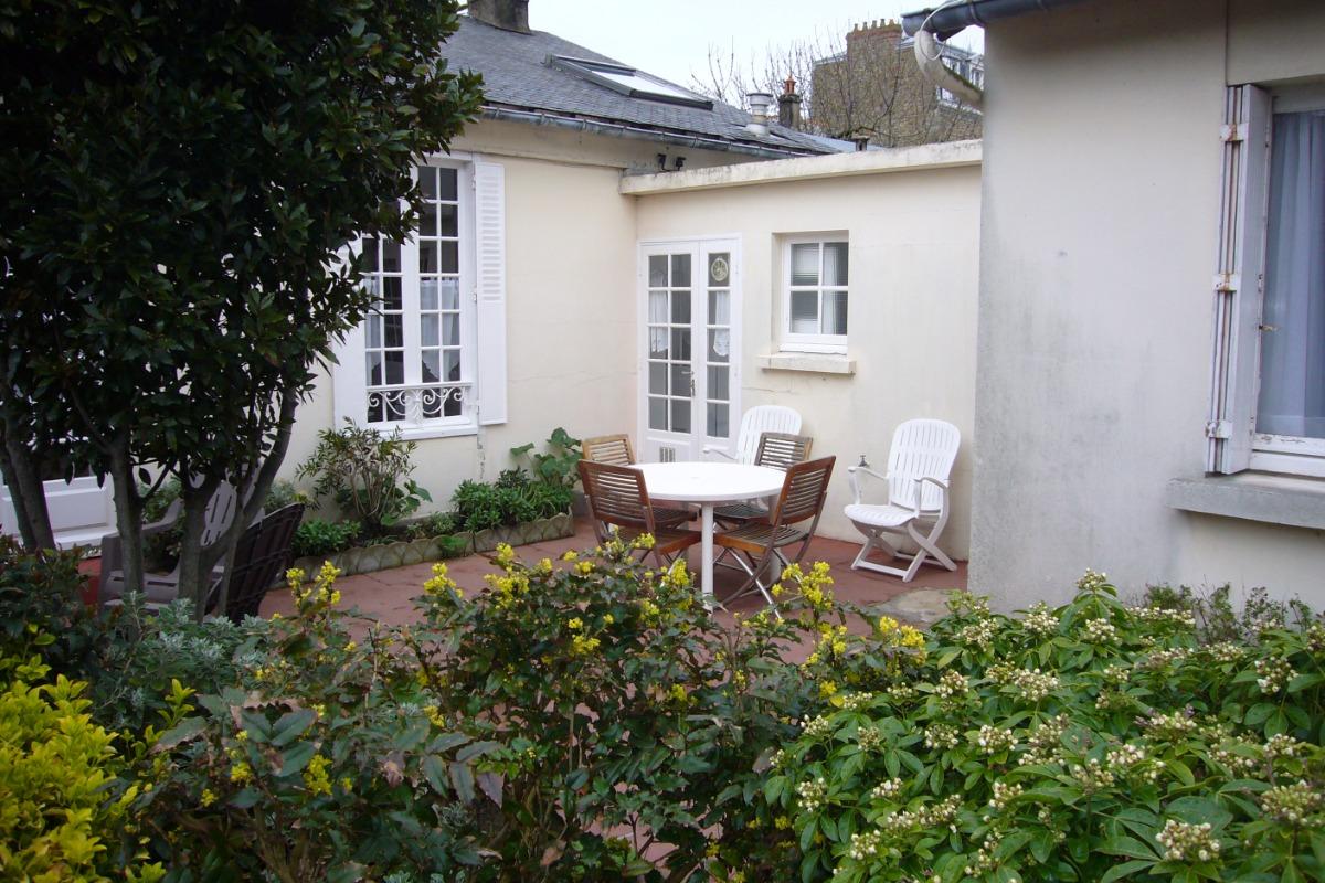La maison et sa terrasse - Location de vacances - Saint-Malo
