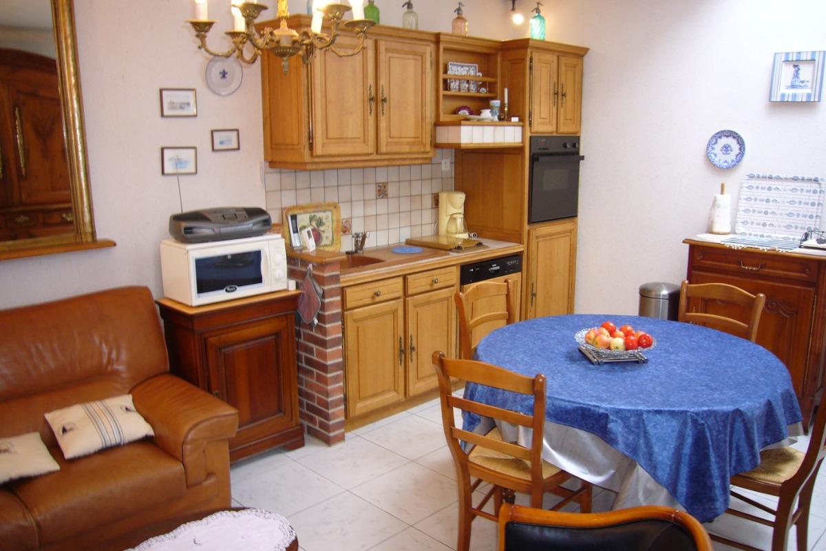 Cuisine, salle à manger - Location de vacances - Saint-Malo