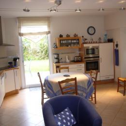 cuisine et salle à manger - Location de vacances - Saint-Malo