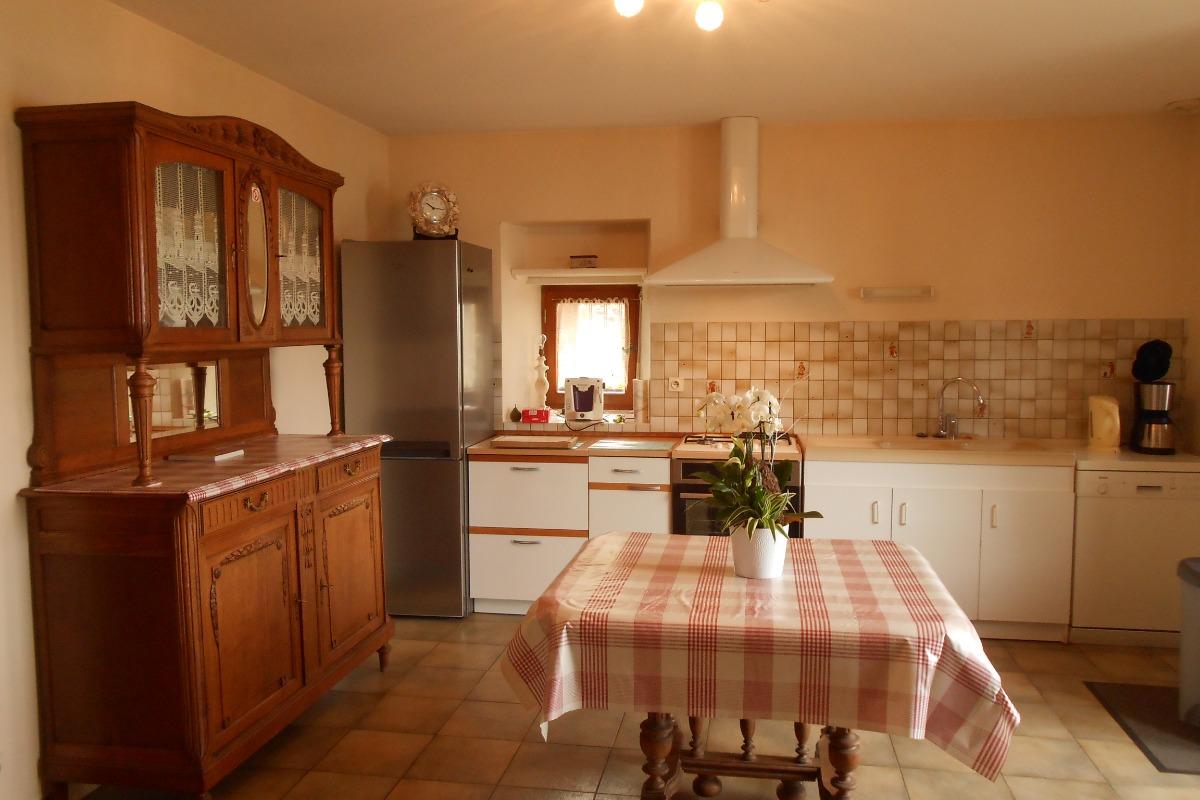 La cuisine - Location de vacances - Saint-Suliac