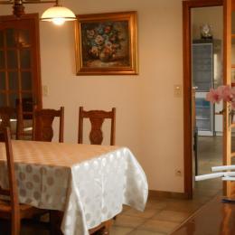 La salle à manger - Location de vacances - Saint-Suliac