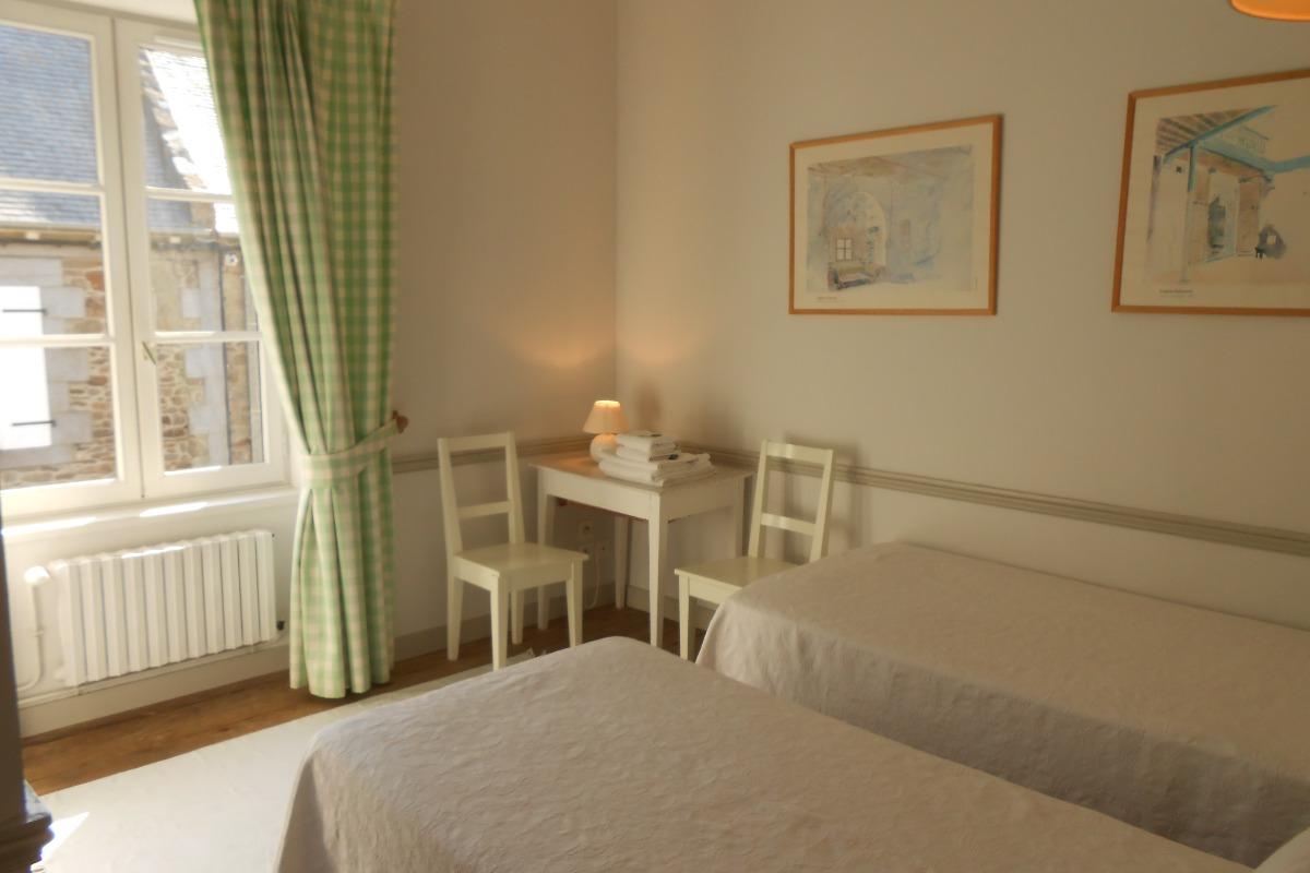Bureau de la chambre verte - Chambre d'hôtes - Saint-Suliac