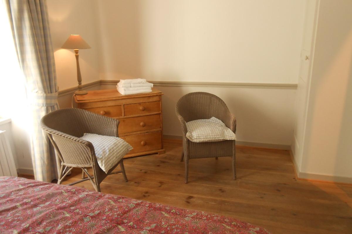 petit salon - Chambre d'hôtes - Saint-Suliac