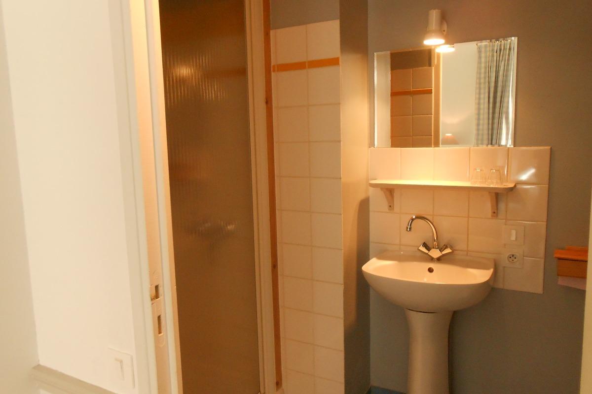 Salle d'eau - Chambre d'hôtes - Saint-Suliac