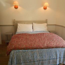 Chambre gris-bleue - Chambre d'hôtes - Saint-Suliac