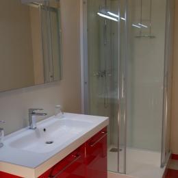 Salle d'eau - Chambre d'hôtes - Hédé - BAZOUGES