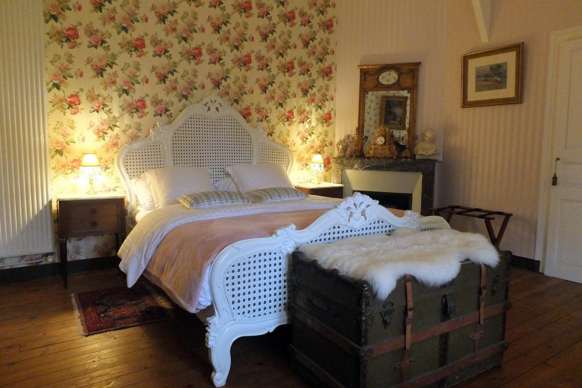 Belle chambre au château avec un décor romantique pour 2 personnes ...