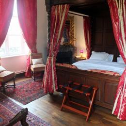 La chambre Bois-Hué - Chambre d'hôtes - Saint-Léger-des-Prés