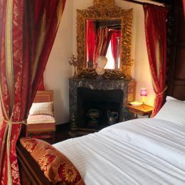 La chambre le Bois Hué - Chambre d'hôtes - Saint-Léger-des-Prés