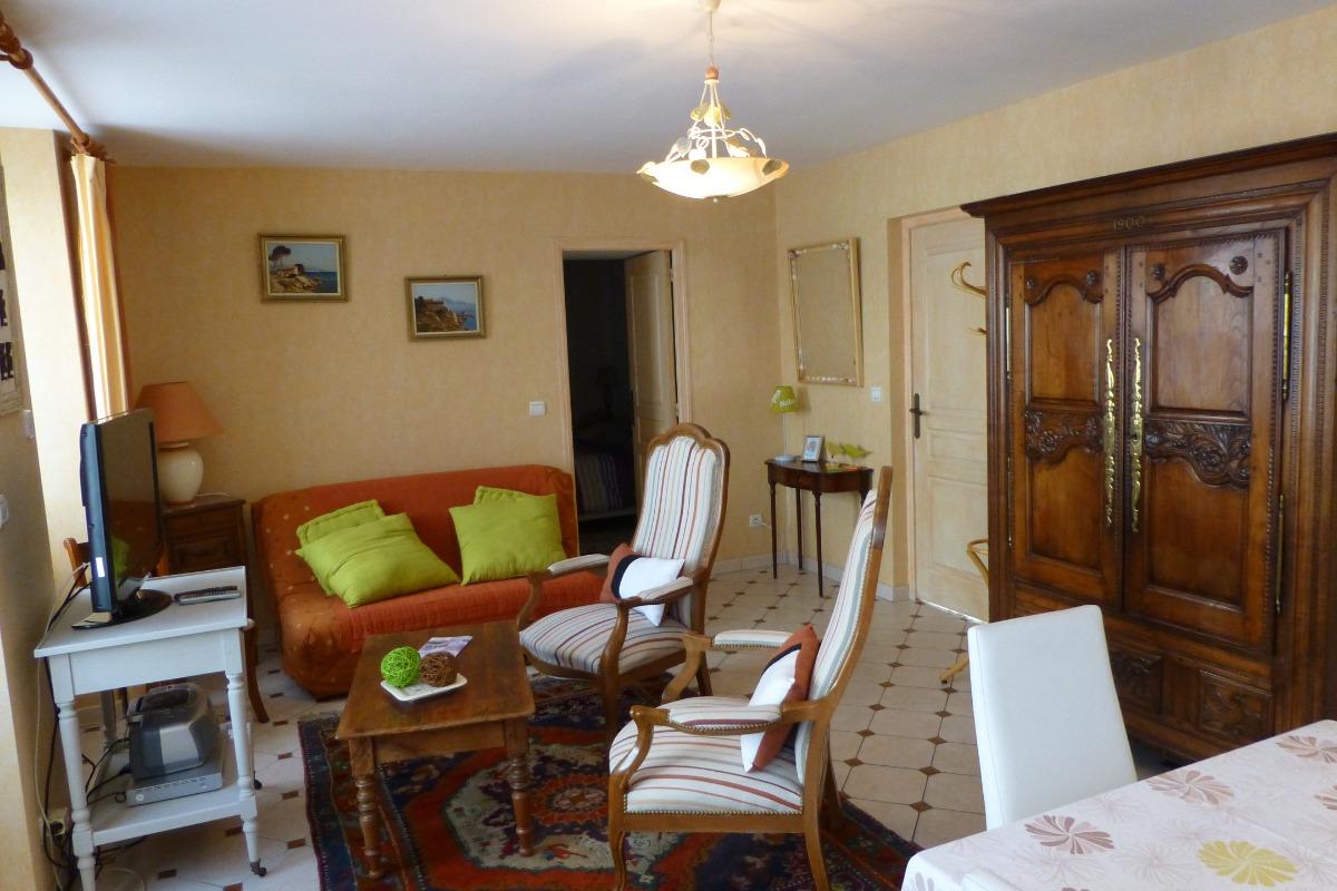 Salon - Location de vacances - Saint-Lunaire