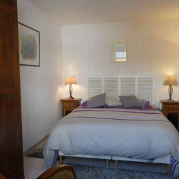 Chambre (lit de 160 x 200) - Location de vacances - Saint-Lunaire