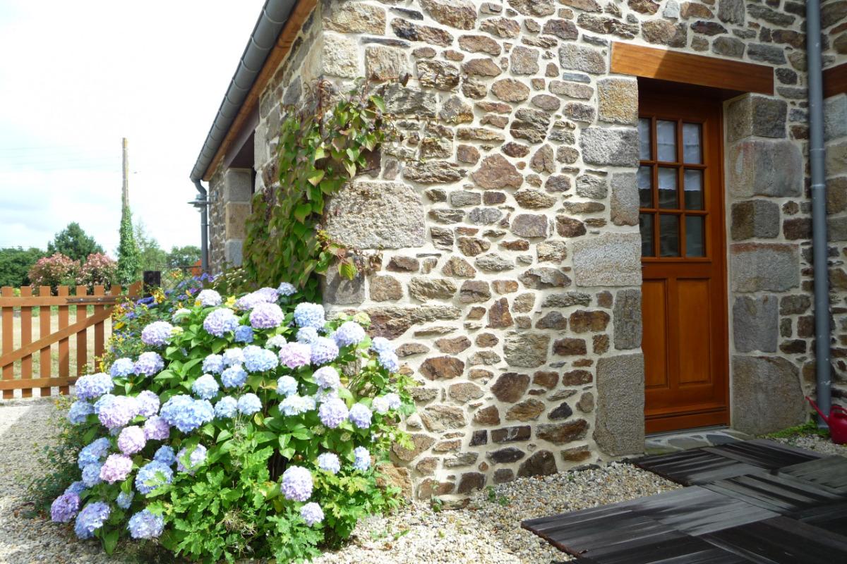 ENTRÉE DE LA MAISON - Location de vacances - Saint-Coulomb