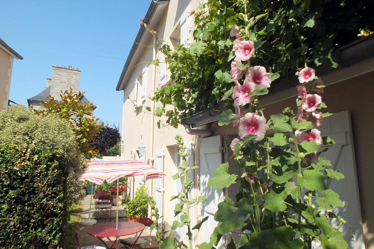 La bâtiment donnant sur le jardin - Location de vacances - Saint-Malo