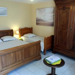La chambre - Location de vacances - Saint-Malo