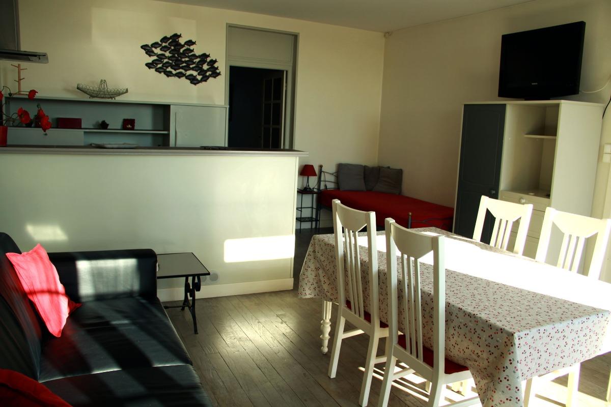 Salon séjour - Location de vacances - Cancale