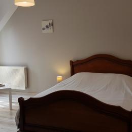 1ère Chambre double à l'étage - Location de vacances - Cancale