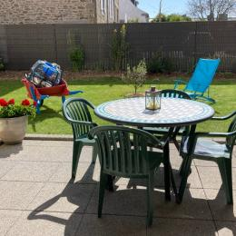 Apéro en terrasse...puis sieste au jardin ! - Location de vacances - Cancale
