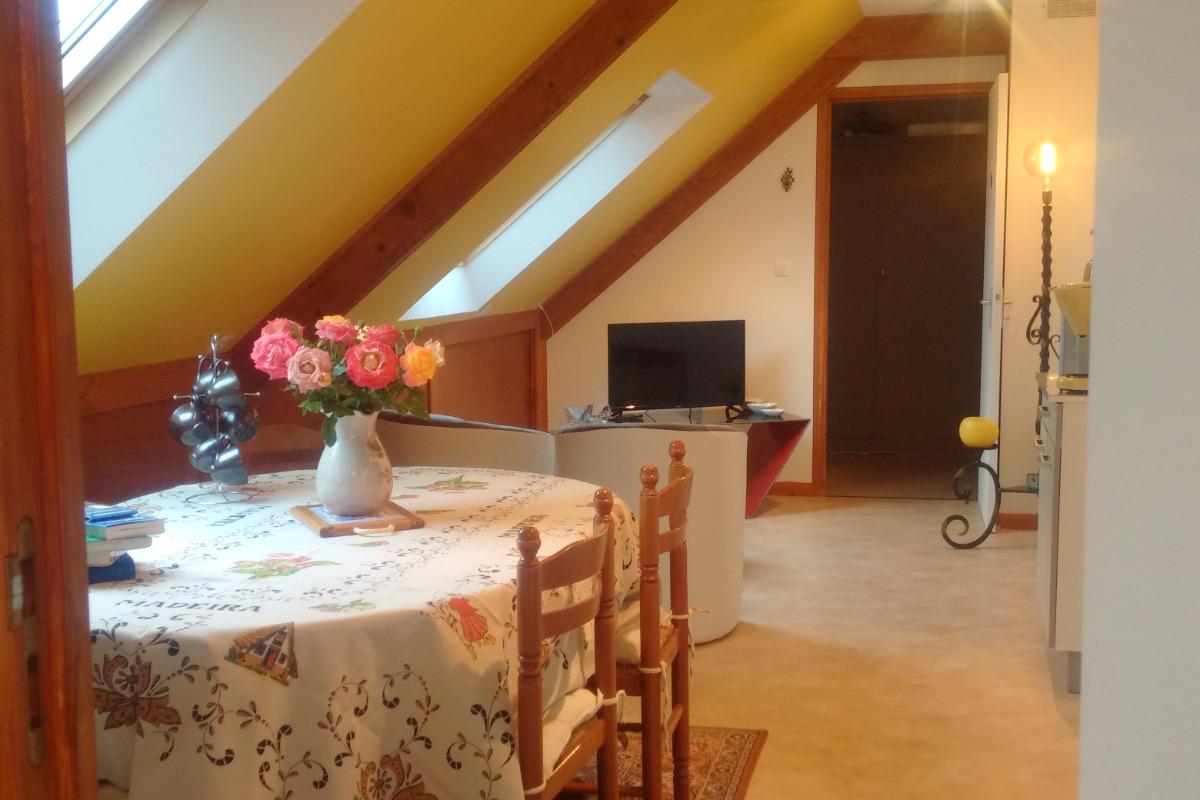 L'espace salon - Location de vacances - La Richardais