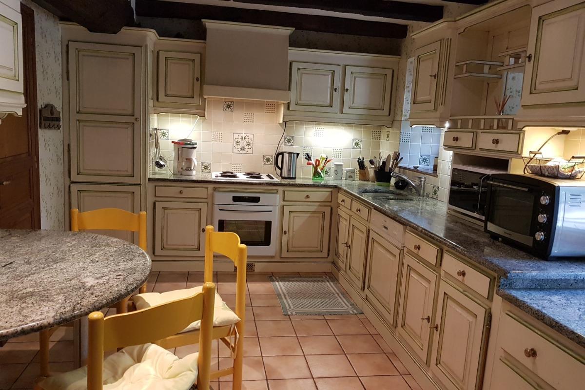 La cuisine aménagée - Location de vacances - Saint-Malo