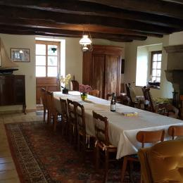 La salle à manger - Location de vacances - Saint-Malo