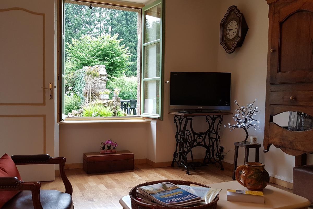 Le salon indépendant - Maison René - Gîtes Atala - Location de vacances - Combourg