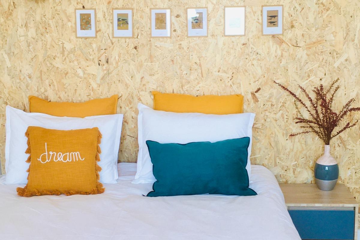Le port de la Houle depuis la jetée - Appartement Bleu Cancale - Outremer sur le Port de la Houle - Location de vacances - Cancale