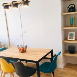 Appartement Bleu Cancale - Outremer sur le Port de la Houle - Location de vacances - Cancale