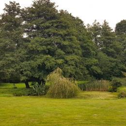 La cuisine équipée - Gîte La Grange - Location de vacances - Noyal-sous-Bazouges