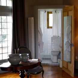Cabinet de toilette - Chambre d'hôtes - Ingrandes