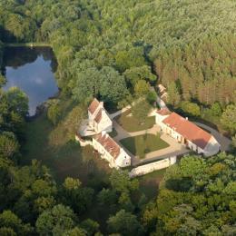 Vue aérienne du Ris de Feu - Location de vacances - Chalais