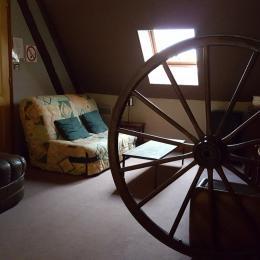 Mezzanine - Location de vacances - Veuil