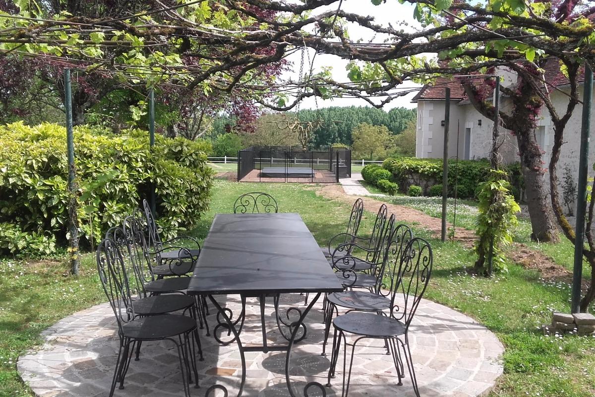 espace privé - Location de vacances - Varennes-sur-Fouzon