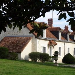 Vu du parc - Location de vacances - Varennes-sur-Fouzon