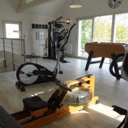 salle fitness sur site - Location de vacances - Varennes-sur-Fouzon