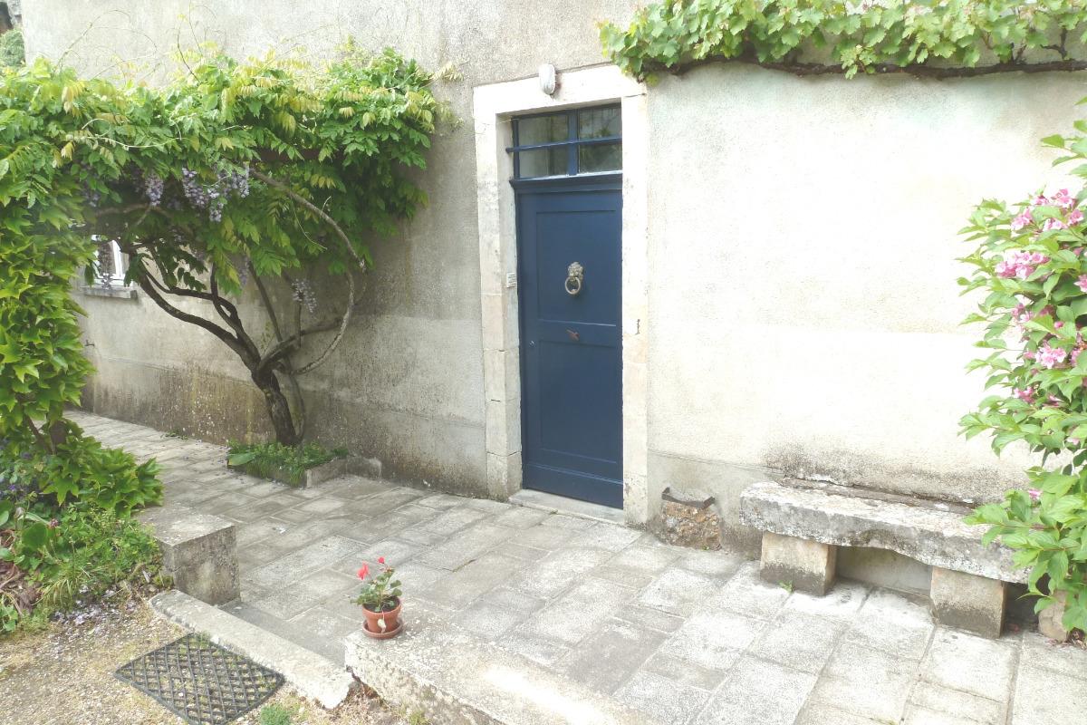 accès à la maison depuis la cour - Location de vacances - Argenton-sur-Creuse