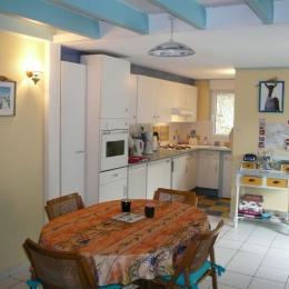 Le coin cuisine - Location de vacances - Saint-Épain