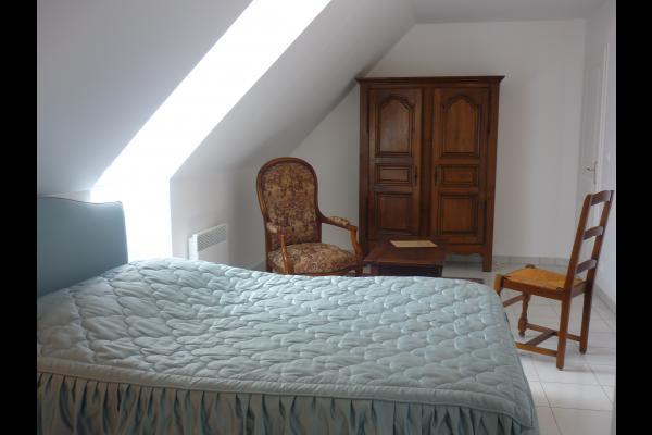 CHAMBRE n4 BLEU - Chambre d'hôtes - Civray-de-Touraine