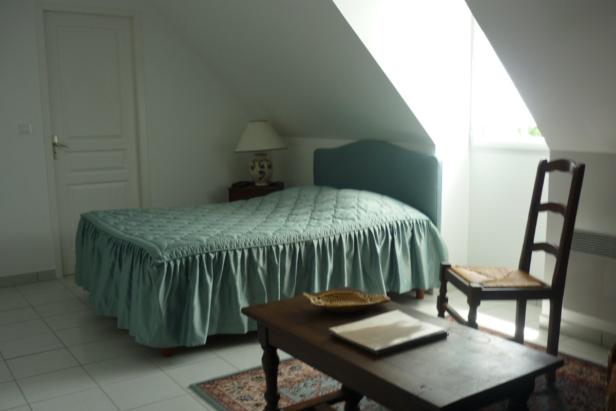 chambre n4 - Chambre d'hôtes - Civray-de-Touraine