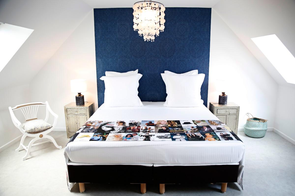 le lit - Chambre d'hôtes - Amboise